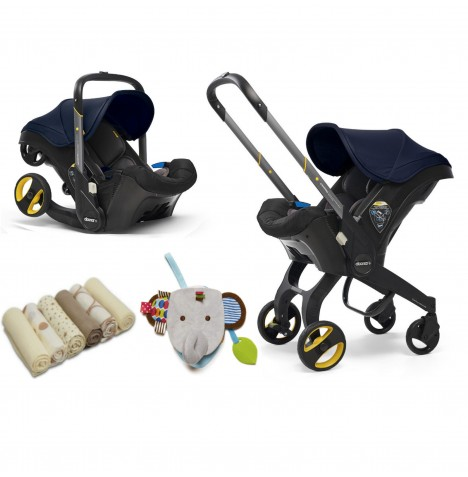 Doona Infant Car Seat / Stroller & Accessories - Royal Blue