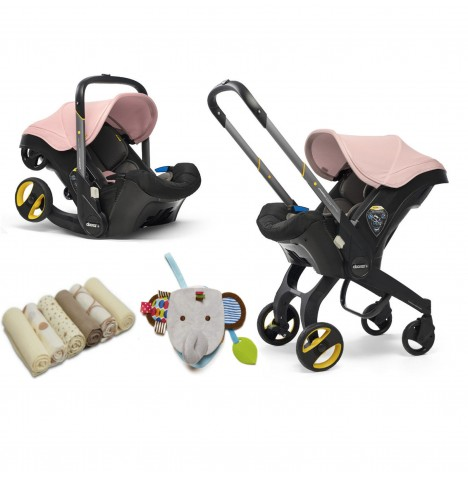 Doona Infant Car Seat / Stroller & Accessories - Blush Pink