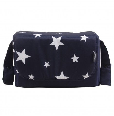 My Babiie Changing Bag *Abbey Clancy Catwalk Collection* - Navy Stars