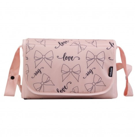 My Babiie Changing Bag *Abbey Clancy Catwalk Collection* - Pink Bows