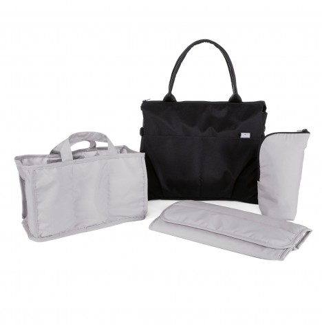 Chicco Organiser Bag / Changing Bag - Pure Black