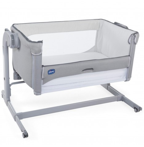 Chicco Next 2 Me Magic Crib - Cool Grey