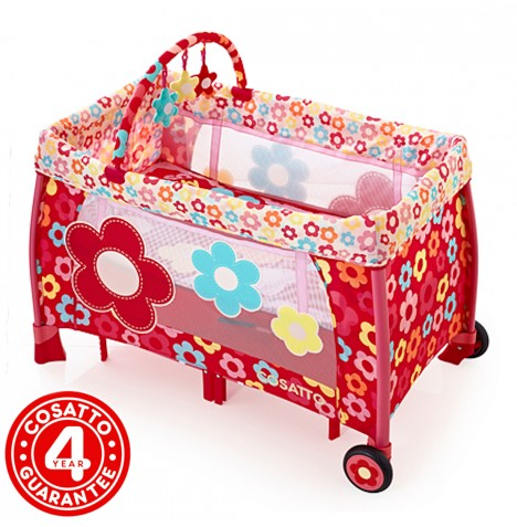 Cosatto Moon Unit 4 in 1 Bassinet Travel Cot - Oh So Pretty