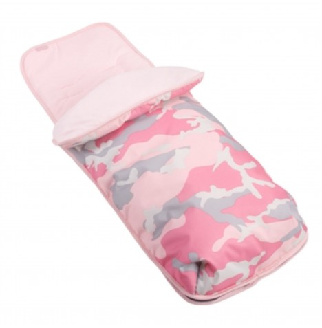 My Babiie Footmuff / Cosytoes *Katie Piper Collection* - Pink Camo..