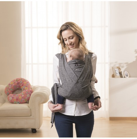 Chicco Comfy Fit Baby Carrier - Grey