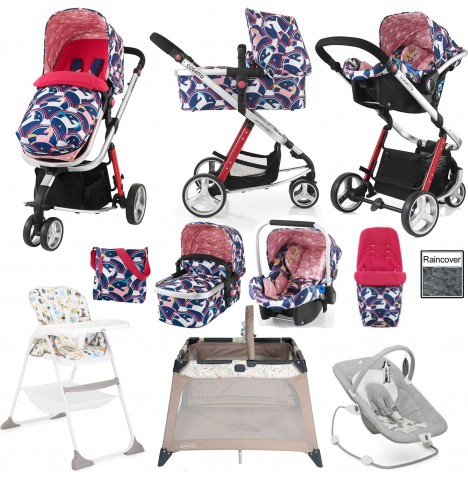 Cosatto Giggle 2 Everything You Need Travel System Bundle - Magic Unicorns