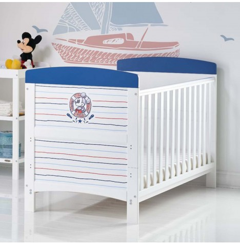 Obaby Disney Mickey Mouse Cot Bed - Ahoy