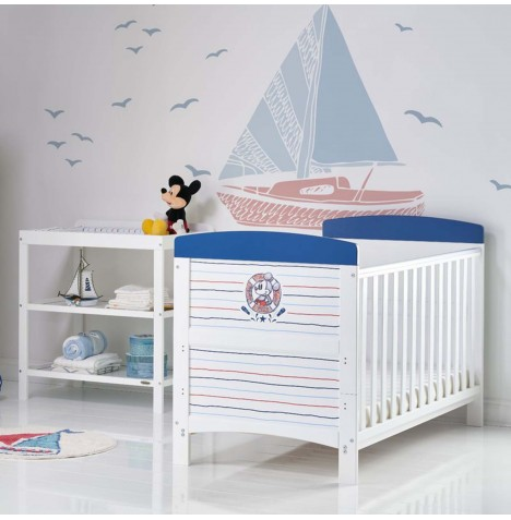 Obaby Disney Mickey Mouse 2 Piece Nursery Room Set - Ahoy