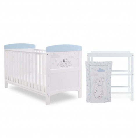 Obaby Disney 101 Dalmatians 2 Piece Nursery Room Set - Little Dreamer