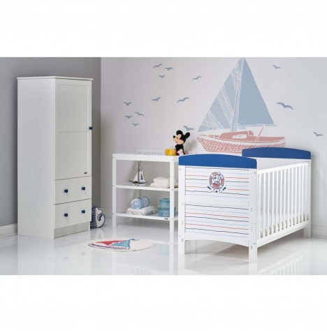 Obaby Disney Mickey Mouse 3 Piece Nursery Room Set - Ahoy