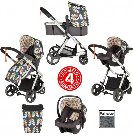 Cosatto Giggle Mix Pramette Travel System - Nordik..