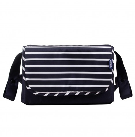 My Babiie Dreamiie Changing Bag *Samantha Faiers Collection* - Navy Stripes