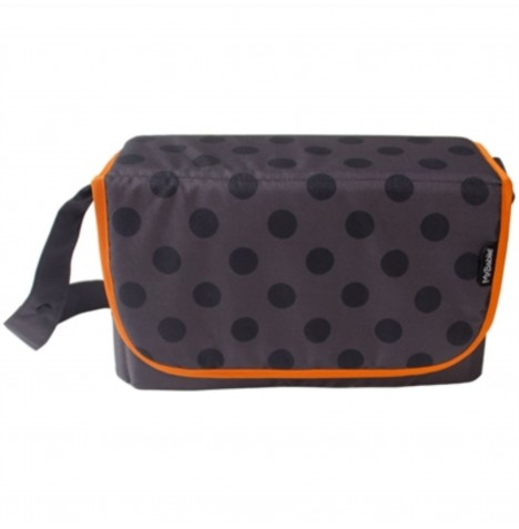 My Babiie Changing Bag - Grey Polka..