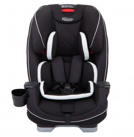 Graco Slimfit LX Group 0+123 Car Seat - Midnight Black