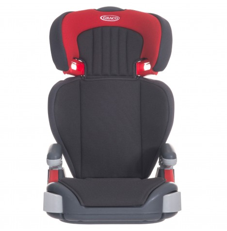 Graco Junior Maxi Group 2/3 Booster Car Seat - Pompeian Red