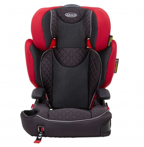 Graco Affix Group 2/3 Booster Car Seat - Chili Spice