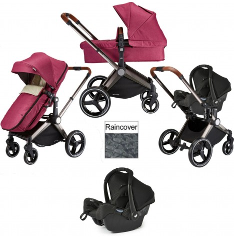 Venice Child Kangaroo 3 in 1 Gemm Travel System - Radiant Orchid