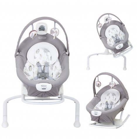 Graco Duet 2 in 1 Sway / Swing (With Portable Rocker) - Meadow