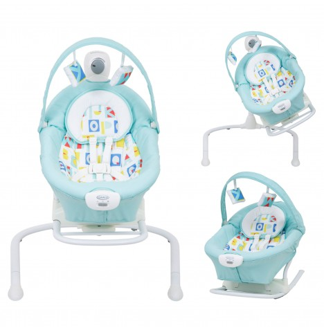 Graco Duet 2 in 1 Sway / Swing (With Portable Rocker) - Block Alphabet