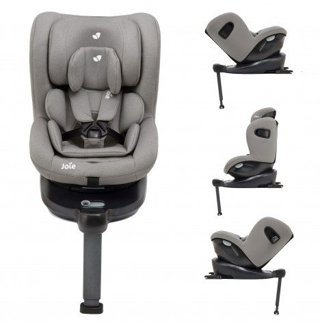 Joie i-Spin 360 iSize Group 0+/1 Car Seat - Grey Flannel