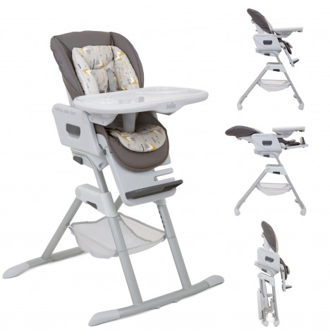 Joie Mimzy Spin 3in1 Highchair - Geometric Mountains