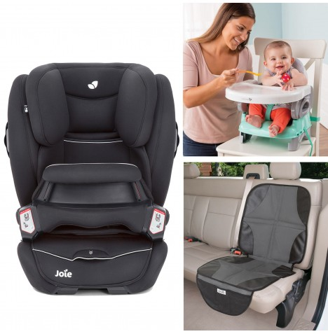 Joie All You Need Transcend Car Seat Bundle - Tuxedo
