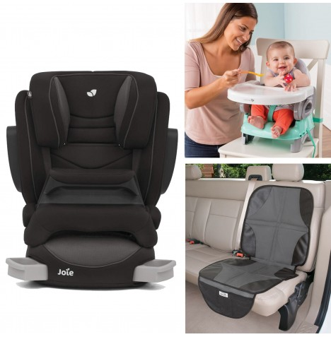Joie All You Need Trillo Shield Car Seat Bundle - Ember
