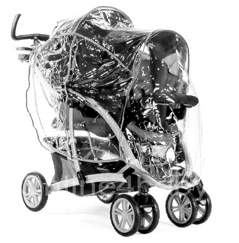 Graco Quattro Tour Duo Double Tandem Raincover