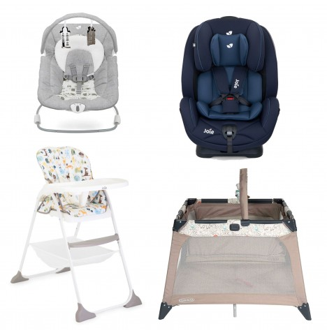 Joie All You Need Stages Car Seat Starter Bundle - Navy Blazer