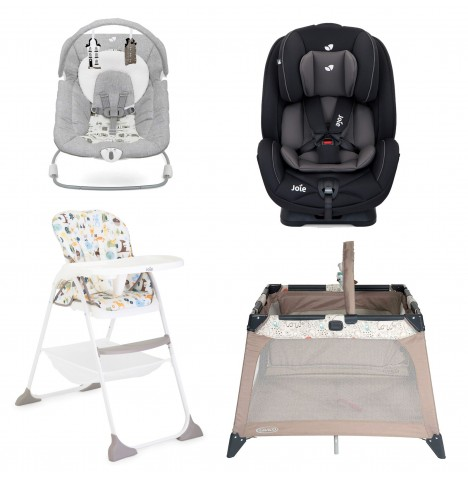 Joie All You Need Stages Car Seat Starter Bundle - Coal