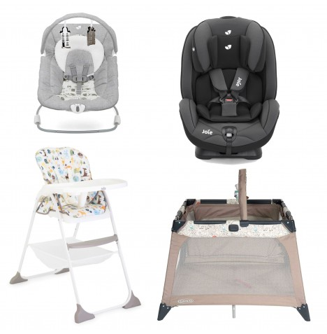 Joie All You Need Stages Car Seat Starter Bundle - Ember