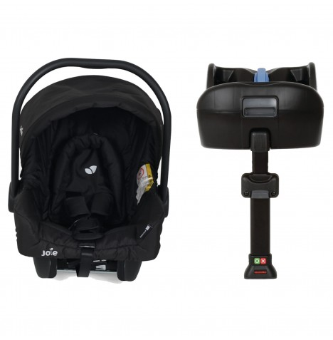 Joie Juva Classic Group 0+ Car Seat & i-Base - Black Ink