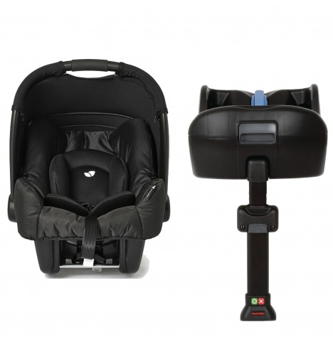 Joie Gemm Group 0+ Car Seat & i-Base - Black Carbon