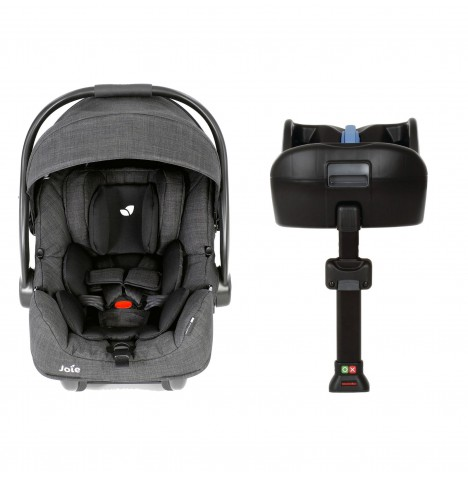 Joie i-Gemm Group 0+ Car Seat & i-Base - Pavement