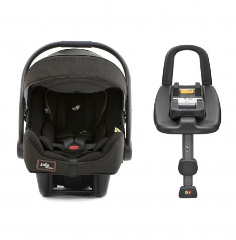 Joie i-Gemm Group 0+ Car Seat & i-Base Advance - Signature Noir