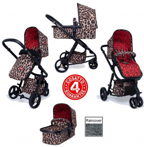 Cosatto Special Edition *Paloma Faith* Giggle 3 Combi 3 in 1 Pushchair - Hear Us Roar