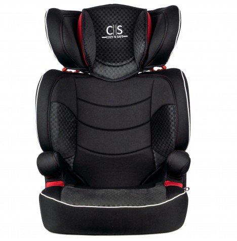 Cozy N Safe Augusta EZFix Group 2/3 Isofix Car Seat - Black / Red