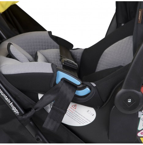 Mountain Buggy Nano Duo Car Seat Adptor - Black