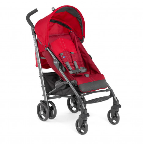 Chicco Liteway Plus Pushchair Stroller - Red