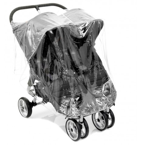 4Baby Fits Baby Jogger City Mini Double Twin Stroller Raincover