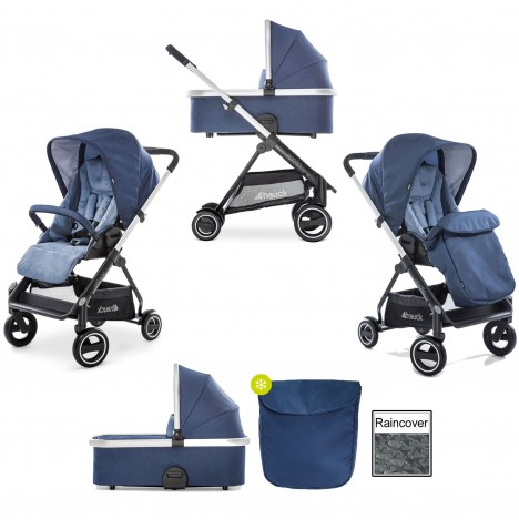 Hauck Apollo 2 in 1 Pushchair - Denim