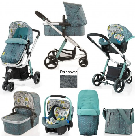 Cosatto Giggle 2 Combi 3 in 1 (Port) Travel System - Fjord