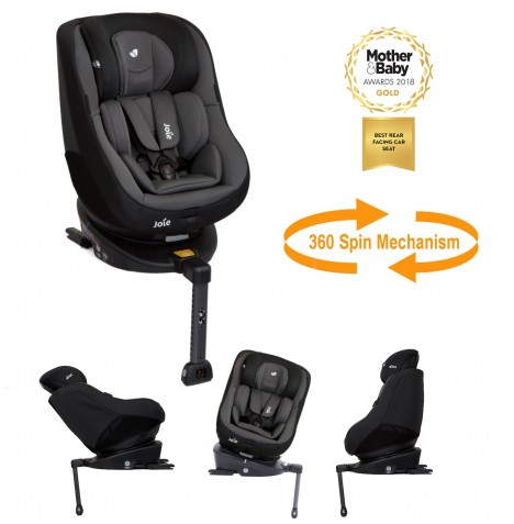 Joie Spin 360 Group 0+/1  Isofix Car Seat - Ember