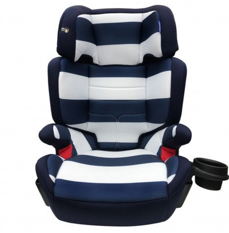 My Babiie Group 2 3 Car Seat - Blue Stripes