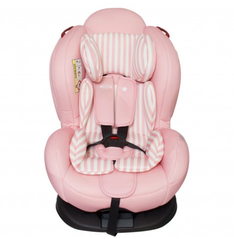 My Babiie Group 0,1,2 ISOFIX Car Seat - Pink Stripes