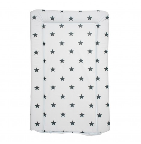 My Babiie Changing Mat - Grey Stars