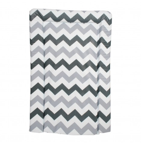 My Babiie Changing Mat - Grey Chevron