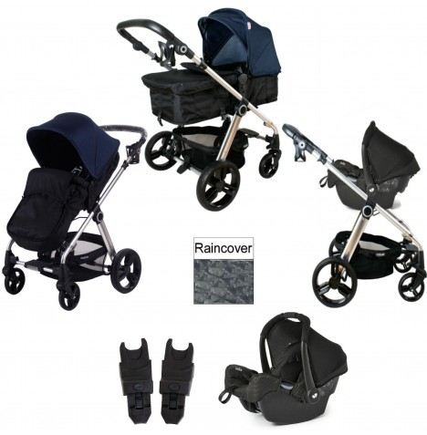 My Babiie MB150 Gemm Travel System - Denim...