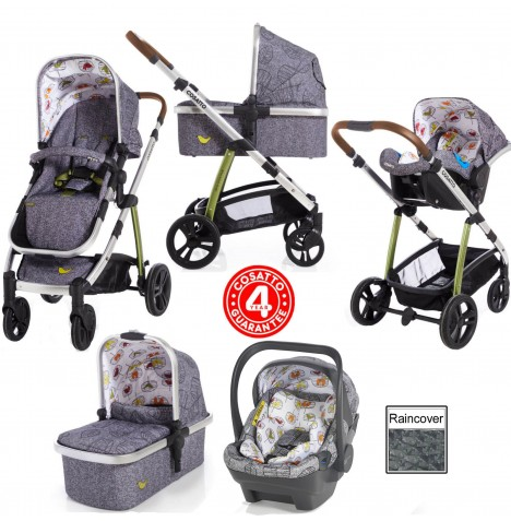 Cosatto Wow (Dock) Travel System - Dawn Chorus