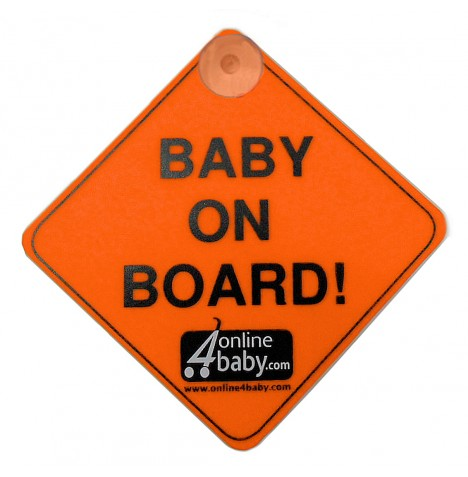 4Baby Baby On Board Sign